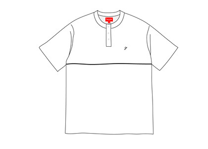 Supreme Terry S-S Henley Whiteの写真