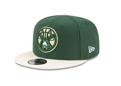New Era 9FIFTY NBA Draft 2021 Milwaukee Bucks Greenの写真