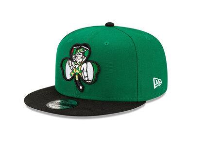 New Era 9FIFTY NBA Draft 2021 Boston Celtics Greenの写真