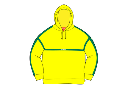 Supreme Warm Up Hooded Sweatshirt Lemonの写真