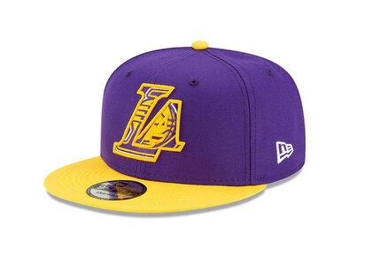 New Era 9FIFTY NBA Draft 2021 Los Angeles Lakers Purpleの写真