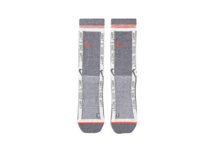 Nike × Off-White Socks Grey & Total Crimsonの写真