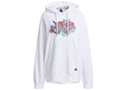 adidas Atmos Pink × Jenny Kaori Sweat Pullover Hoodie Whiteの写真