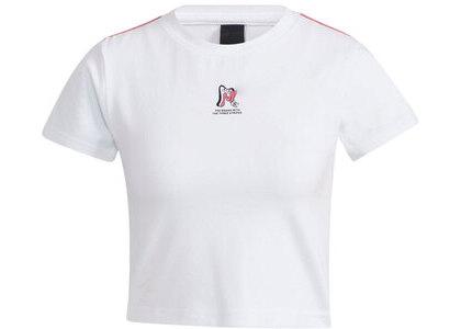 adidas Atmos Pink × Jenny Kaori T-shirt Whiteの写真