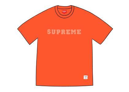 Supreme Dazzle Mesh S-S Top Orangeの写真