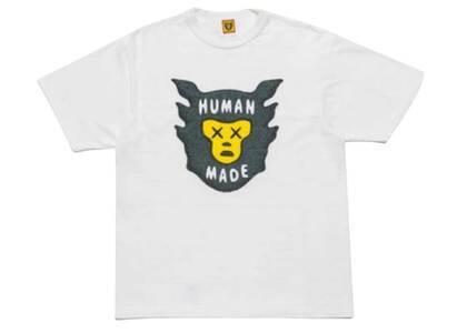 Kaws × Human Made Brand Logo T-Shirt Whiteの写真
