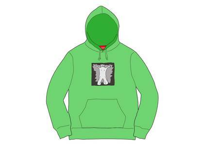 Supreme Leigh Bowery Hooded Sweatshirt Bright Greenの写真