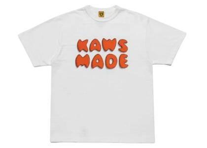 Kaws × Human Made Logo T-Shirt Whiteの写真