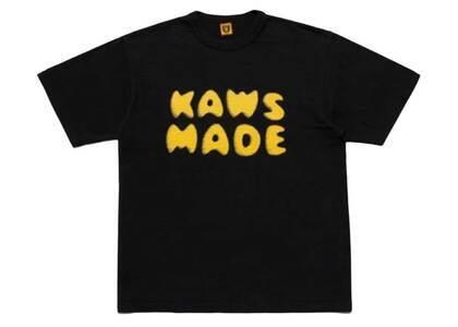 Kaws × Human Made Logo T-Shirt Blackの写真