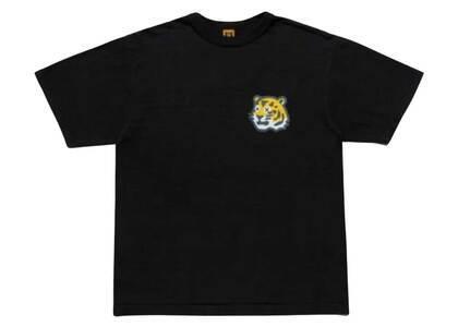Kaws × Human Made Tiger Logo T-Shirt Blackの写真