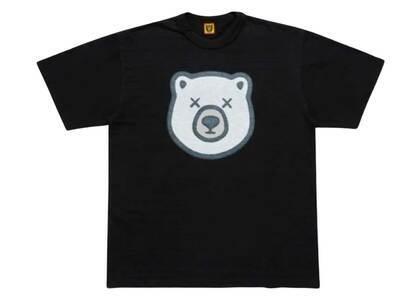 Kaws × Human Made Bear Logo T-Shirt Blackの写真