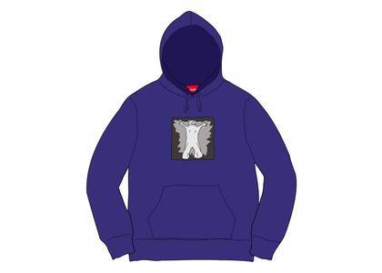 Supreme Leigh Bowery Hooded Sweatshirt Dark Royalの写真
