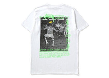 Stussy × Union Roller Disco Tee Whiteの写真