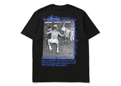 Stussy × Union Roller Disco Tee Blackの写真