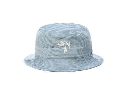 Stussy × Union Union Corduroy Bucket Hat Steel Blueの写真