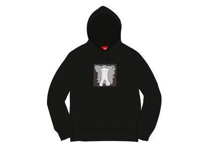 Supreme Leigh Bowery Hooded Sweatshirt Blackの写真