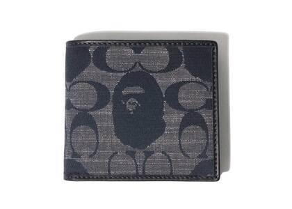 Coach × Bape Coin Wallet Navy (SS21)の写真
