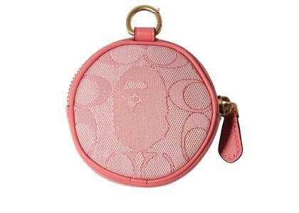 Coach × Bape Coin Case Pink (SS21)の写真