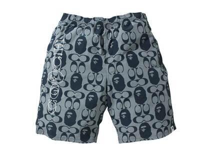 Coach × Bape Shorts Navy (SS21)の写真