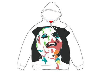 Supreme Leigh Bowery Airbrushed Hooded Sweatshirt Whiteの写真
