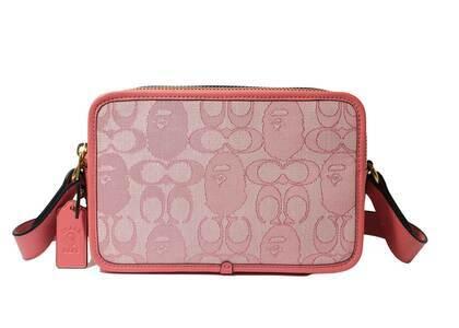 Coach × Bape Small Box Crossbody Pink (SS21)の写真