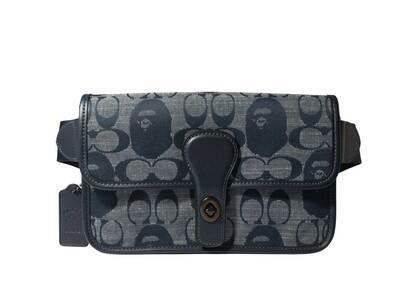 Coach × Bape Belt Bag Navy (SS21)の写真