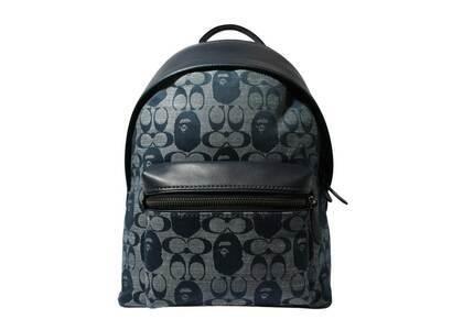 Coach × Bape Backpack Navy (SS21)の写真