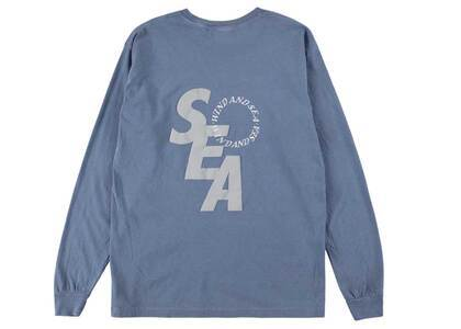 Wind And Sea SD L/S T-Shirt Blueの写真