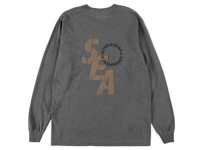 Wind And Sea SD L/S T-Shirt Charcoalの写真