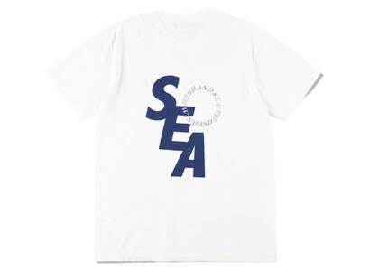 Wind And Sea SD S/S T-Shirt White Navyの写真