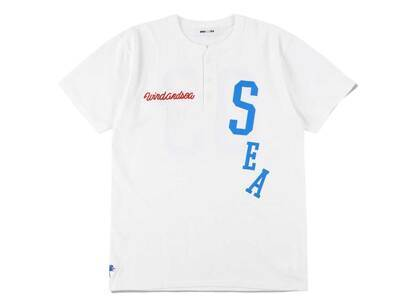 Wind And Sea League-03 Henly Neck S/S Tee Whiteの写真