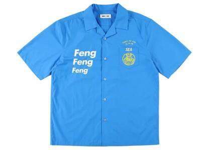 Wind And Sea F-H-H Open Collar S/S Shirt Blueの写真