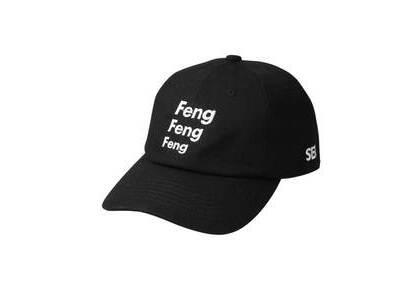 Wind And Sea F-H-H Feng Feng Dad Cap Blackの写真