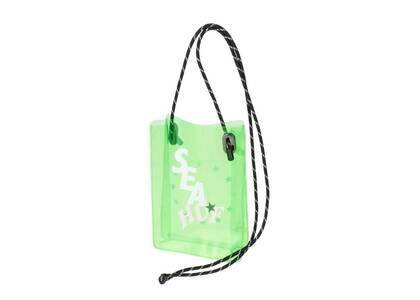 HUF × Wind And Sea ID Case Neon Greenの写真