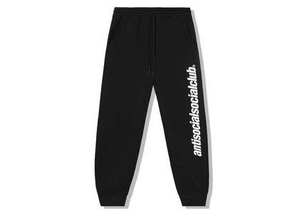 Anti Social Social Club Official Black Sweatpants Black (SS21)の写真