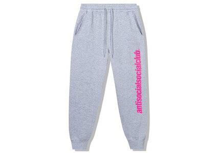Anti Social Social Club Official Grey Sweatpants Grey (SS21)の写真