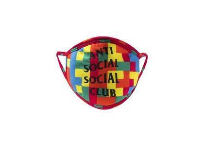 Anti Social Social Club Static Mask Rainbow (SS21)の写真