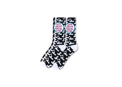 Anti Social Social Club Static Black Socks Black (SS21)の写真