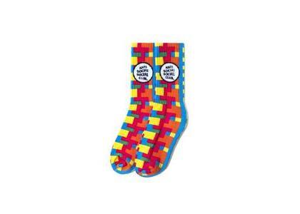 Anti Social Social Club Static Color Socks Rainbow (SS21)の写真