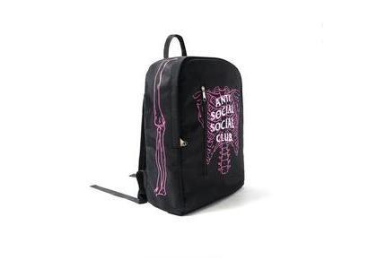 Anti Social Social Club Broken Black Backpack Black (SS21)の写真