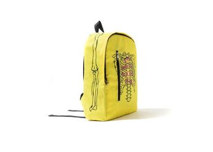 Anti Social Social Club Broken Yellow Backpack Yellow (SS21)の写真