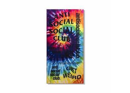 Anti Social Social Club Identity Crisis Rainbow Tie Dye Towel Rainbow (SS21)の写真