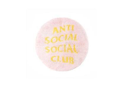 Anti Social Social Club No Shoes Inside Pink Rug Pink (SS21)の写真