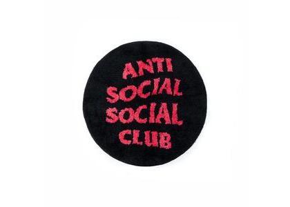 Anti Social Social Club No Shoes Inside Black Rug Black (SS21)の写真