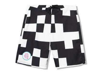 Anti Social Social Club Kook Black/White Boardshorts Black/White (SS21)の写真