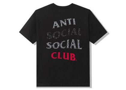 Anti Social Social Club 99 Retro IV Black Tee Black (SS21)の写真