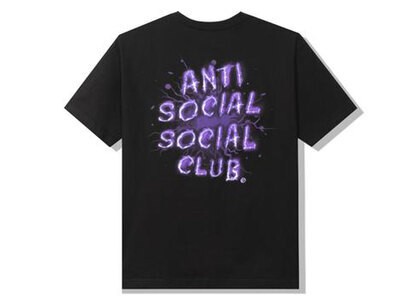 Anti Social Social Club I See Grape Black Tee Purple (SS21)の写真