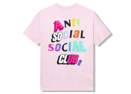 Anti Social Social Club The Real Me Pink Tee Pink (SS21)の写真