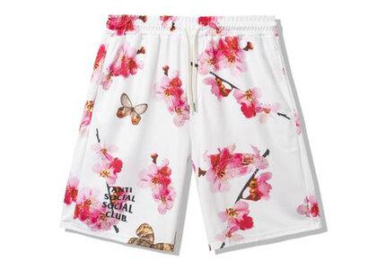 Anti Social Social Club Be My Butterfly White Mesh Shorts White (SS21)の写真