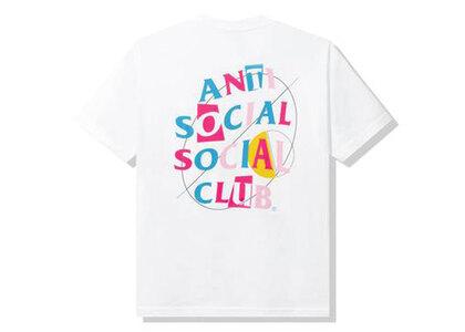 Anti Social Social Club Mood Bored White Tee White (SS21)の写真